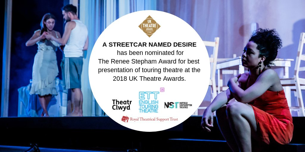 A Streetcar Named Desire is nominated for The Renee Stepham Award